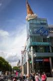 科隆,德国- 2011年8月13日:冰淇凌雕塑 免版税库存图片