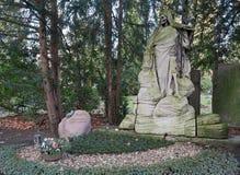 科隆-公墓 库存照片
