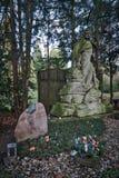 科隆-公墓 免版税图库摄影