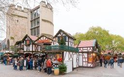 科隆-圣诞节市场 库存图片
