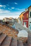 科马基奥,费拉拉,意大利看法  免版税库存照片