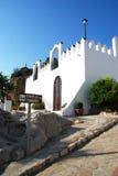 科马雷斯城堡 免版税图库摄影