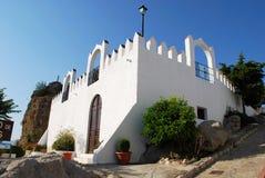 科马雷斯城堡 图库摄影