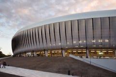 科鲁黄昏的竞技场体育场 库存图片