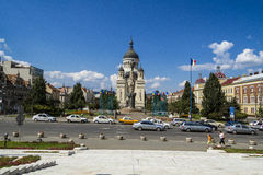 科鲁Napoca市 免版税库存图片