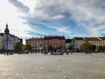 科鲁Napoca,罗马尼亚- 2017年10月15日:正面图更新 免版税库存图片