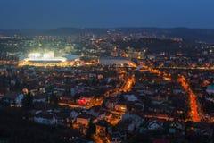 科鲁NAPOCA,罗马尼亚- 2月27 :罗马尼亚-西班牙,友好的比赛 库存照片