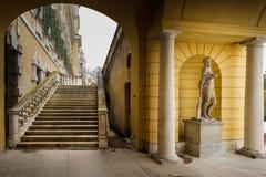 科洛尔诺,意大利- 2016年11月06日-科洛尔诺王宫  免版税图库摄影