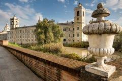 科洛尔诺,意大利- 2016年11月06日-科洛尔诺王宫  免版税库存照片