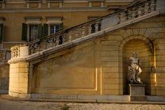 科洛尔诺,意大利- 2016年11月06日-科洛尔诺王宫  图库摄影