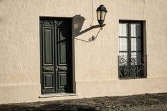科洛尼亚德尔萨克拉门托老镇 免版税库存照片