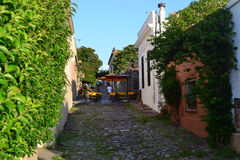 科洛尼亚德尔萨克拉门托街道 免版税库存图片