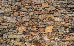 科洛尼亚省石墙 库存照片