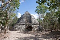 科巴废墟,墨西哥 免版税库存图片