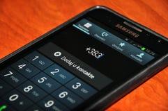 科索沃得到国际电话代码 免版税图库摄影