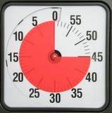 读秒定时器企业最后期限日程表会议概念 免版税库存照片