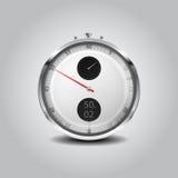 秒表传染媒介 免版税图库摄影