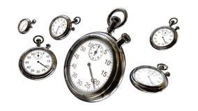 秒表和时间 免版税图库摄影