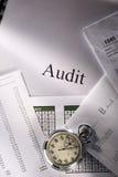 秒表和跟踪 免版税库存照片