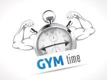 秒表-健身房时间 图库摄影