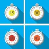 秒表/定时器 向量例证
