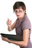 秘书教师 免版税库存图片