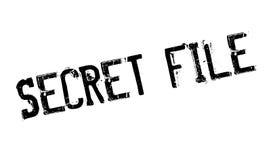 秘密文件不加考虑表赞同的人 图库摄影