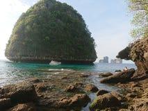 秘密海岛 免版税库存图片