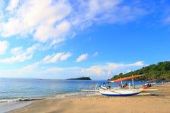 秘密海滩 库存图片