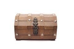 秘密海盗配件箱 免版税库存图片