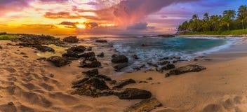秘密海滩Ko Olina 库存图片
