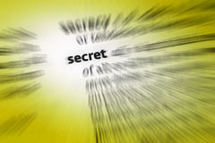 秘密 免版税图库摄影