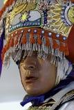 秘鲁人剪舞蹈家 免版税图库摄影
