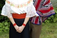 秘鲁人礼服 免版税库存图片