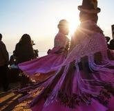 秘鲁人舞蹈 图库摄影