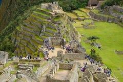 秘鲁印加人古老废墟 库存图片