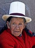 秘鲁妇女 图库摄影