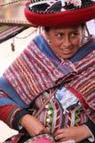 秘鲁妇女 免版税图库摄影