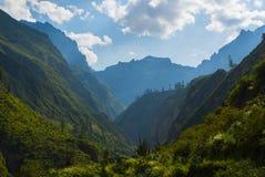 秘鲁山 图库摄影