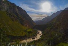 秘鲁山 库存照片