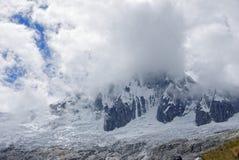秘鲁山 免版税库存照片
