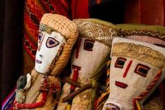 秘鲁工艺品 库存照片