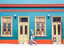 秘鲁房子 免版税库存图片