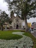 秘鲁教会在利马 免版税图库摄影