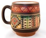 秘鲁杯子 免版税库存图片