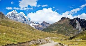 秘鲁横向 免版税图库摄影