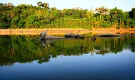 秘鲁河 库存图片