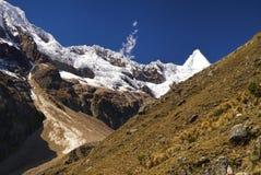 秘鲁的安地斯 免版税库存图片