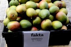 从秘鲁的芒果果子 库存图片