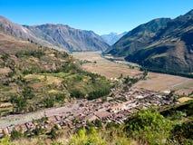 秘鲁神圣的谷 库存照片
